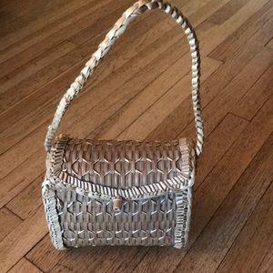 Handbags - Vintage Straw Handbag